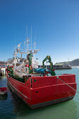 Fishing boat in port of Lekeitio — Stock Photo