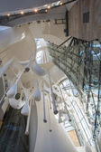 Interior of Guggenheim Museum in Bilbao — Photo