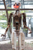 Prototype of robot from the company Robothespian — Stock Photo