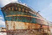 布列塔尼的沉船 — 图库照片
