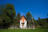 Small cute little church in the Dolomites — Stock Photo