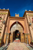 Entrance of a Riad in Morocco — Foto Stock
