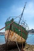 Shipwrecks in Brittany — Stock Photo