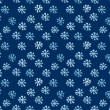 Stock Photo: Snowflake drown background