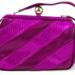 Purple purse — Stock Photo