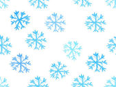 Snowflake drown background — Stock Photo