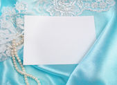 Wedding invitation — Stock Photo