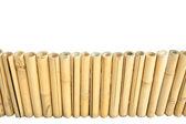 Recinzione di bambù — Foto Stock