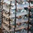 Stock Photo: Steel ingots