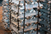 Steel ingots — Stock Photo