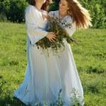 Two young beautiful women — Stock Photo #16781931