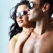 Royalty-Free Stock Photo: Sexy stylish young couple