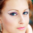 Model with perfect make up — Stock Photo