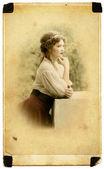 Thoughtful Young lady — Fotografia Stock