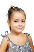 Funny lovely little girl — Stock Photo