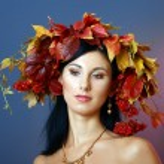 Autumn Woman — Stock Photo #17676229