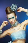 Ice-queen — Stock Photo