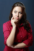 Thoughtful woman — Stock Photo