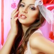 Beautiful Valentine woman — Stock Photo #21449797