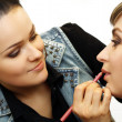 Make up artist — Stock Photo
