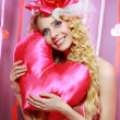 Beautiful Valentines woman — Stock Photo #21450147