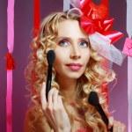 Stylish valentine woman — Stock Photo #21450155