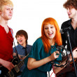 Group of musicians — Stock Photo