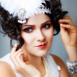 Retro flapper style — Stock Photo #23318994