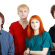 Group of young — Stock Photo #23319012