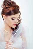 Beautiful bride portraite — Stock Photo