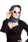 女性のサングラス — ストック写真