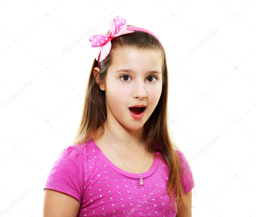 surprised little girl � stock photo 169 lenanet 23319380
