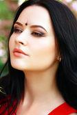 Giovane donna indiana — Foto Stock