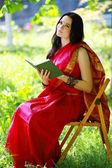 индийский студент — Стоковое фото