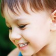 Little Boy Laughing — Stock Photo