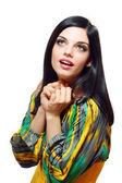 Surprised beautiful woman — Stock Photo