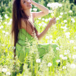 Spring Beauty Girl — Stock Photo