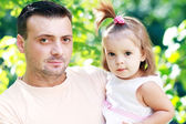 Father and daughter — Stockfoto