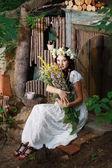 Fairy girl — Stock Photo