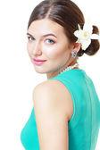 完璧な肌を持つ女性 — ストック写真