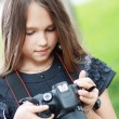 Stockfoto: Adorable little girl