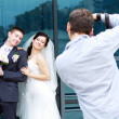 Stock Photo: Photographer in action
