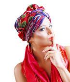 Beautiful fasion woman — Stock Photo