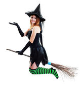 Witch halloween — Stock Photo