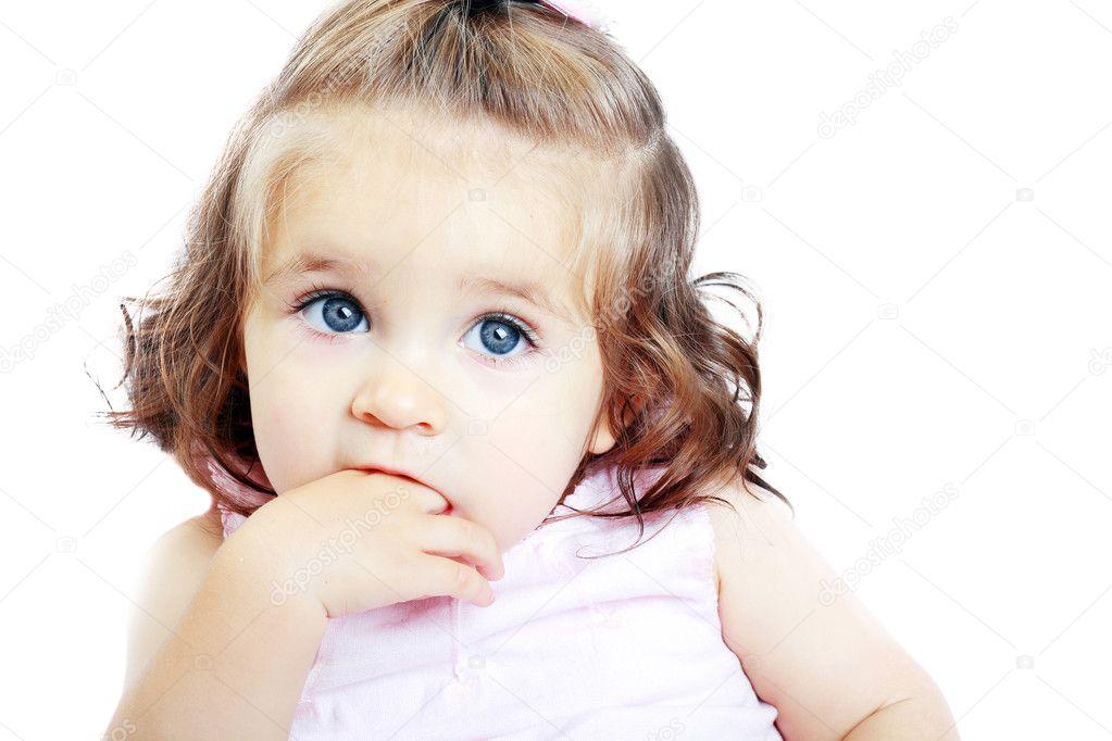 Little Baby Girl Stock Photo Lenanet 31246555