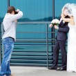 Wedding photographer — Stock Photo #34303497