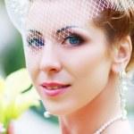 Beautiful retro bride — Stock Photo #34303975