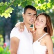 Charming couple — Stock Photo