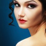 Lady Vamp Style — Stock Photo