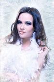 Amazing young woman — Stock Photo